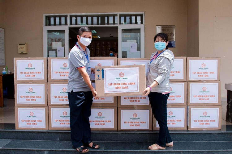 Tập đoàn Hưng Thịnh hỗ trợ khẩn hàng chục tỷ đồng cho TP.HCM chống dịch Covid-19 ảnh 3