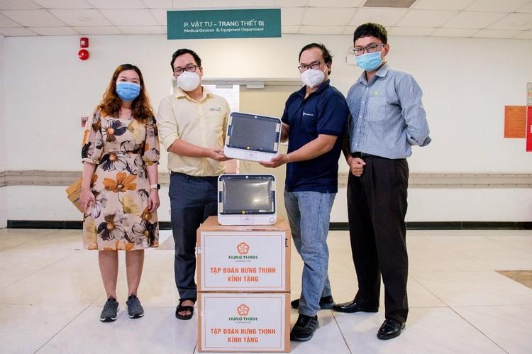 Tập đoàn Hưng Thịnh hỗ trợ khẩn hàng chục tỷ đồng cho TP.HCM chống dịch Covid-19 ảnh 4