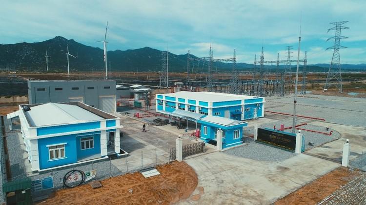 BIM Group hoàn thành tổ hợp năng lượng tái tạo kết hợp sản xuất muối lớn nhất Việt Nam ảnh 3