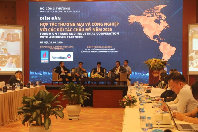 Kết nối doanh nghiệp Việt với các đối tác châu Mỹ ảnh 1