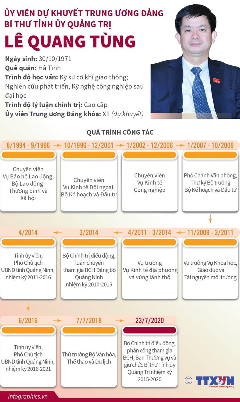 Ủy viên dự khuyết TW Đảng, Bí thư Tỉnh ủy Quảng Trị Lê Quang Tùng ảnh 1